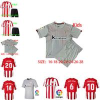 Wholesale 20 Athletic Bilbao Soccer Jerseys RAUL GARCIA WILLIAMS ADURIZ Football shirt VILLALIBRE Athletic Club MUNIAIN Jersey