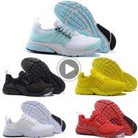 Wholesale fragment sock dart resale online - Prestos shoes Running Shoes for Mens Women sock dart BR QS Yellow tripe black Oreo Outdoor Fashion Jogging Sneakers fragment QM5