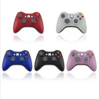 Wholesale xbox 360 controller resale online - Cgjxs Hot Selling Wireless Controller For Xbox Controle Wireless Joystick For Official Microsoft Xbox Game Controller