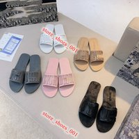 Wholesale high sandals winter resale online - 2020 high quality Slippers progettista Sandals High Quality Slide progettista Shoes lusso Huaraches Flip Flops Loafers For Women