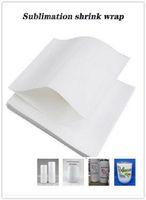 Sublimation shrink wrap film bag for Skinny Tumbler Regular Tumbler Wine Tumbler Sublimation shrink film 170*255mm 180*290mm free shipping