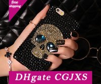 Wholesale skull phone covers for sale – best Luxury Phone Case For Iphonexsmax Iphonexr Xs plus sp s Samsung S9p S8p S9 S8 Note9 With Cool Skull Case Back Cover