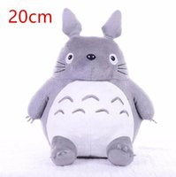 Wholesale neighbor totoro toy resale online - Toy Baby Birthday Doll Hot Christmas Gift For Totoro Stuffed Kid Animal Soft Pillow Plush cm Neighbor Cushion My Totoro zqEOx