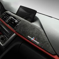 Wholesale accessories bmw resale online - Alcantara Wrap Car Dashboard Panel ABS Cover Trim Car Interior Decoration for BMW F30 F31 F32 F34 F36 GT Series Accessories