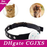 Wholesale gps dogs collar for sale - Group buy Voice Call Cat Dog Waterproof With Collar Pet Gps Tracker Lbs Location Real Time Durable Locator Smart Wifi Electronic Tracking