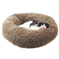 Wholesale zip bedding resale online - Zipped Round Pet Bed For Small Medium Large Dogs Cats New Cotton Dog Kennel Cat Mats Sofa Puppy Cushion