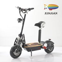 lityum pil elektrikli scooter toptan satış-20ss EVO Electric Two-Wheel Scooter Folding Adult Walking Portable Fan You 48v1600w Lithium Battery Electric Car