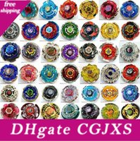 Wholesale beyblade toys free resale online - All Models Beyblade Metal Fusion d Launcher Beyblade Spinning Top Set Kids Game Toys Christmas Gift For Children