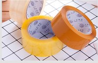 2020 hot sale Manufacturer wholesale transparent tape 4.5 5.5 6cm widened packaging sealing tape adhesive tape AT002