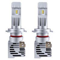 Wholesale hid headlamps for sale - Group buy 2pcs V V M3 Car Waterproof LED Headlight Bulbs Kit W Headlamp k White For Car Truck SUV RV HID Headlight