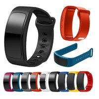 Wholesale samsung gear bracelet resale online - For Samsung Gear Fit SM R360 watch Wristband Watch band Silicone Watch Replacement wrist Band bracelet Strap