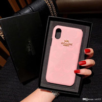 Wholesale Bright TPU metal L0g0 mobile phone case suitable for iPhone X S R plus pro MAX