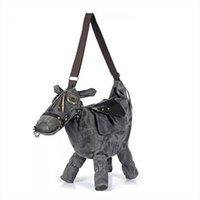 Wholesale donkey bags resale online - Women Messenger Bags Travel Bag Pack Mochila Bolsos Mujer Hot Animal Bag Creative D Pony Donkey Horse Shape Female Shoulder Bag