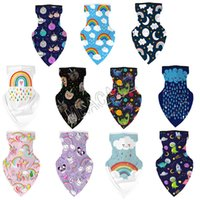 Wholesale bandana polka for sale - Group buy 3D Cartoon Bandana Scarf Multi Purpose Neck Gaiter Outdoor Kids Children INS Creative Animal Printed Mouth Cover Protection Face CoverD81902