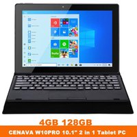 Wholesale windows tablet pc 4gb resale online - CENAVA quot Tablet PC Interl Celeron N3350 GB GB Touch Screen In Win10 WIFI BT4 Notebook Laptop With Keyboard