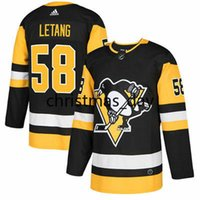 Wholesale Cheap custom Kris Letang Pittsburgh Penguins Jersey Stitch customize any number name Hockey jersey