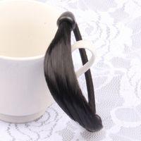 Wholesale wig stores resale online - Choke pepper wig Wig ring braid elastic hair rope head rope hair accessories South Korea yuan store purchase