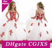 Wholesale beauty pageants for sale - Group buy New Arrival Little Kids Outstanding Lace Beaded Tulle Toddler Beauty Girl Pageant Dress Cheap Flower Girl Dresses