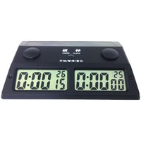 Wholesale game timers resale online - HD Resettable Countdown Accurate Electronic Chess Clock Game Timer Tool Digital