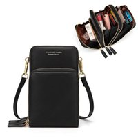 Wholesale new arrivals cellphones for sale - Group buy New Arrival Colorful Cellphone Bag Small Summer Shoulder Bag for Women Fashion Daily Use Card Holder