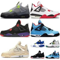 Wholesale silver iv for sale - Group buy 2020 Fire Red Bred Sail Womens Mens New Basketball Shoes Metallic Green Trainers Jumpman Sneakers Cactus Jack Women IV Pure Money Sneake