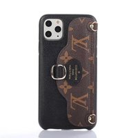 Wholesale china bags top quality for sale - Group buy Fashion Phone Case for iphone pro max plus X Xs XR Xs Max Top Quality Shoulder Bag Leather Holder Phone Cover with Lanyard