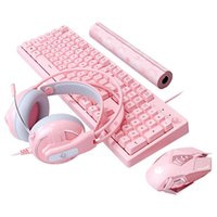 Wholesale program usb for sale - Group buy Gaming Combos Keys No Punch Wired USB Keyboard DPI Macros Programming Mouse Noise Reduction Headset