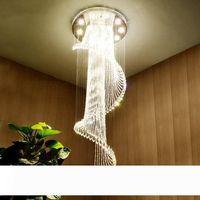 Modern LED Ceiling Chandelier Lighting Living Room Bedroom Chandeliers Creative Home Lighting Fixtures AC110V220V Clear Glass Pendant Light Glass