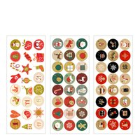Wholesale fun stickers for sale - Group buy christmas decorations factory stock Christmas gifts Holiday stickers stickers Christmas party gifts Fun cookies digital stickers