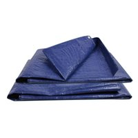 Wholesale waterproof tarps resale online - 4 Sizes Waterproof Waterproof Camping Tarpaulin Cover PVC Tarpaulin Canvas Canopy Cloth Cover Car Cloth With Thick Rain Tarps