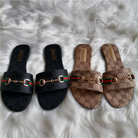 Wholesale slippers for womens for sale - Group buy Paris Fashion brand Flip Flops for Mens and Womens GG Metal buckle slippers Thong Sandals Designer slides Slippers L V luxury Shoes