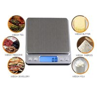 Wholesale electronic modern resale online - Scales Digital Kitchen Scales Portable Pocket LCD Mini Electronic Scale Jewelry Kitchen Weight Balance Digital Weighing Machine DHC913