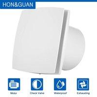 Wholesale mounted wall fan resale online - Hon Guan mm Home Ventilation Fan Bathroom Garage Exhaust Fan Wall Mount Strong Exhaust Ultra Silent HGA A