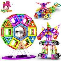 Wholesale mini plastic blocks resale online - New Mini Magnetic Designer Construction Set Model Building Toy Plastic Magnetic Blocks Educational Toys For Kids Gift