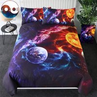 Wholesale galaxy bedding for sale - Group buy Plan of Salvation by JoJoesArt Bedding Set Planet Earth Bed Cover Galaxy Nebula Home Textiles Universe Outer Space Jogo De Cama