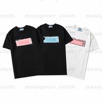21ss Womens Mens Designer Tshirts Letter frame Printed Fashion women T-shirt Top Quality Cotton Casual Tees Short Sleeve Luxe T Shirts
