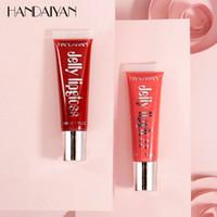 Wholesale High quality Liquid Matte Lipstick Colors HANDAIYAN Jelly Lip Gloss ml fast shipping