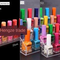 Wholesale polishing shop resale online - Zexi acrylic bottles display stand Polish nail polish storage rack nail shop props VZ8
