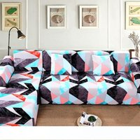 Wholesale sofa sets for resale online - Sofa Cover Set Geometric Couch Cover Elastic Sofa for Living Room Pets Corner L Shaped Chaise Longue