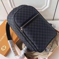 Wholesale mens school bags resale online - 2020 Top Quality Backpack Brand Designer Carry On Backpack Mens Fashion School Bags Luxury Travel Bag Black