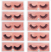Wholesale natural eyelash extensions for sale - Group buy 3D Mink Eyelashes Natural False Eyelashes D Mink Lashes Soft Make Up Extension Makeup Fake Eye Lashes D Series