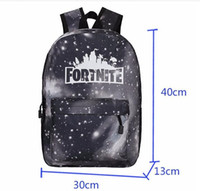 Wholesale bag games resale online - 2020 New Fortnite School Bags Shoulder Bag Custom Large Volume Game School Bag Fashion Full Printing Personalized Student School Bag F