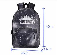Wholesale custom backpacks for sale - Group buy 2020 New Fortnite School Bags Shoulder Bag Custom Large Volume Game School Bag Fashion Full Printing Personalized Student School Bag F