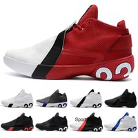 Wholesale boys basketball sneakers resale online - 2020 New Kids Men Basketball Shoes Ultra Fly GYM RED WHITE BLACK INFRARED Man Trainers Sports Sneakers Shoes