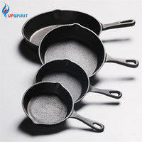 Wholesale skillet kitchen tool resale online - UPSPIRIT Cast Iron Non stick CM Skillet Frying Pan for Gas Induction Cooker Egg Pancake Pot Kitchen Dining Tools Cookware