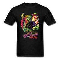 Wholesale online fabrics store for sale - Group buy Online Store Funny Comics Tee Shirts Men Zombi Punks From Mars Warlock Soft Fabric Boy Tshirts Ufo Ship Creature Intruder