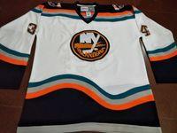 Wholesale Custom Men Youth women Vintage Men Bryan Berard New York Islanders Game Worn SIZE S XL Team Letter