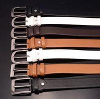 Wholesale free dhl buckle belt resale online - Belt top quality brand buckle designer belts luxury belts for men alloy buckle belt men and women waist leather belt free DHL