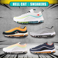 Wholesale cushion beige resale online - 97 Black Bullet Sean Wotherspoon s women Sports Shoes Jogging Walking Hiking cushion sneakers mens running shoes Outdoor Chaussures