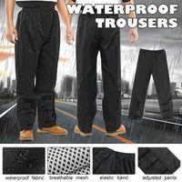 Wholesale rain pant men for sale - Group buy L XL Men Women Waterproof Trousers Pant Motorbike Rain Gear Raincoat Moto Fishing Motorcycle Racing Rain Wear Windstopper